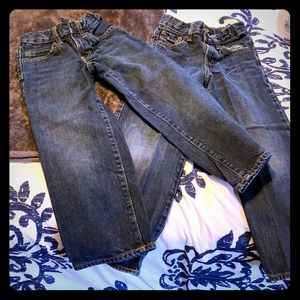 2 Boys Old Navy Jeans